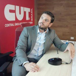 assessor jurídico da Fenasera, Bruno Rocha